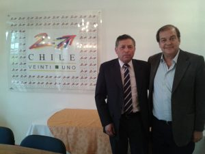 Alcalde con Francisco Vidal