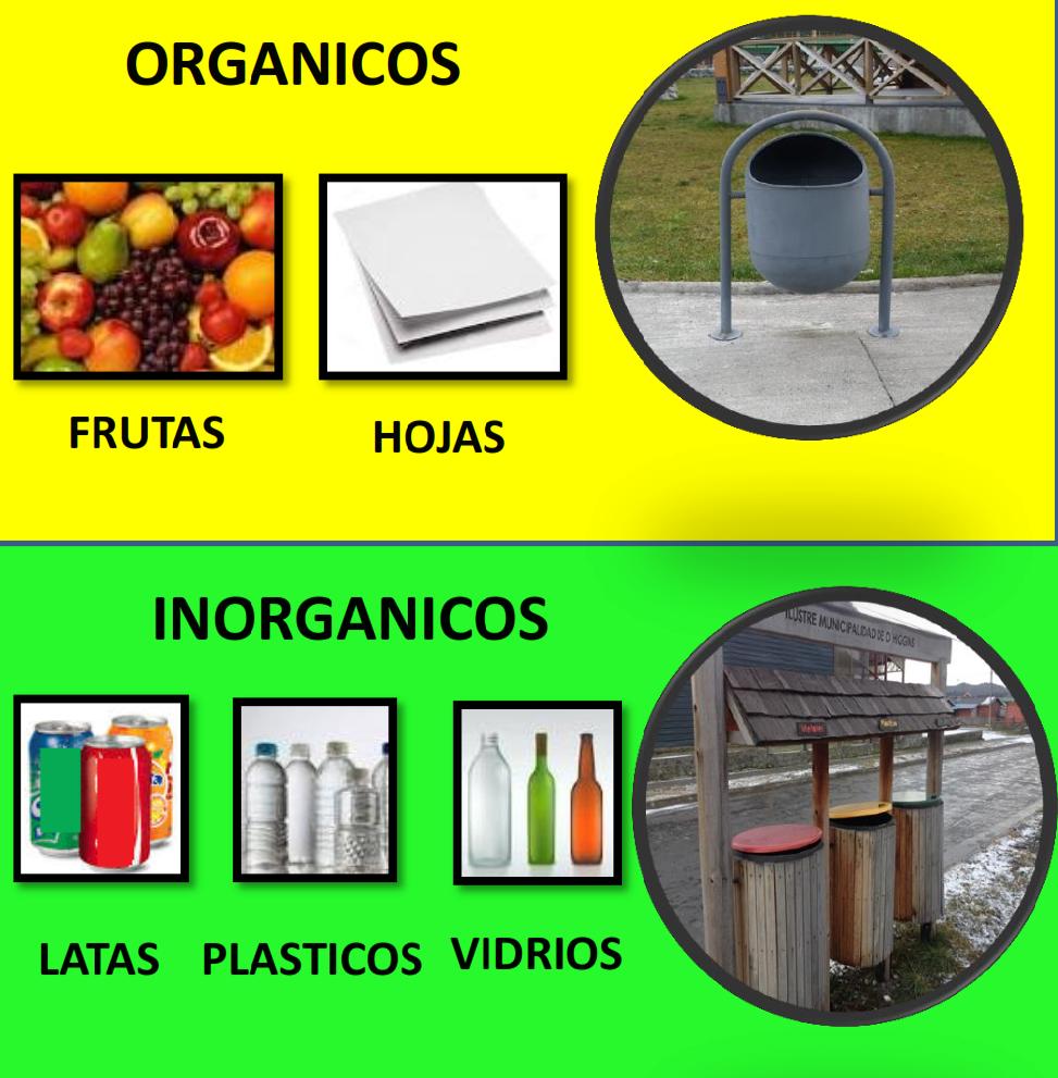 Ilustración de Separación de Residuos